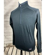 Patagonia Fleece 1/2 Zip Pullover Top Jacket Shirt Size M Blue Mens - $51.68