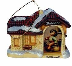 Hummel Christmas ornament figurine goebel Bavarian Bradford All Aboard v... - $29.65