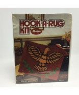 Vintage Hook A Rug Kit American Eagle Made in USA 20 x 27 Inches Malina New - $17.99