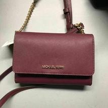 Michael Kors Jet Set Travel Medium Multifunction Phone Crossbody Bag Clutch - $88.11