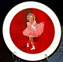 """The Shirley Temple Classics Commemorative Plate """"Baby Take A Bow"""" AA20- CP2271 V"""