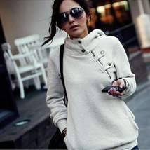 Casual Long Sleeve Pullover Hoody Winter Jacket - $29.00