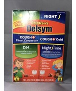 Delsym Children's Cough Chest Congestion & Night Time Cough Cold  EXP 2/... - $11.64