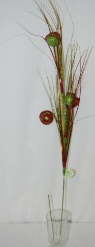 Regency International MTX46147 Saturn Ball Grass Spray Red Green 38 inches