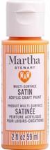 Martha Stewart Crafts Multi-Surface Satin Acrylic Paint, 2 oz, CANDY CORN ORANGE - $9.89
