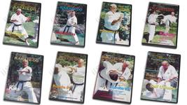 8 DVD Set Complete Art Shotokan Karate mechanics kicking kata kumite Ray... - $145.00