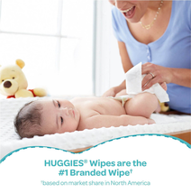 Huggies Wipes One and Done Baby, Refill Cucumber Green Tea Scented (952 Ct.) - $42.57