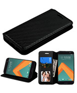 For HTC 10 Phone Leather Cover Case Wallet Protective Stand Pouch Folio ... - $6.25