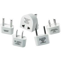 Travel Smart By Conair International Adapter Plug Set CNRM500ENR - $20.24