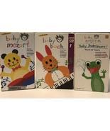 Lot Of 3 Baby Bach/ Baby Mozart/ Baby Einstein - $9.50