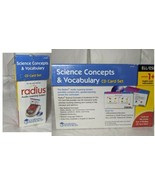 Radius Audio Learning System Science Concepts & Vocabulary CD Card Set E... - $19.57