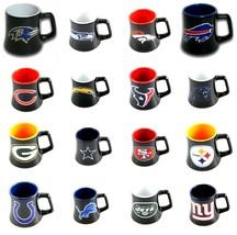 NFL TEAM CERAMIC SHOT GLASS/MUG 2 OZ SERIES #2 NEW YOU CHOOSE THE TEAM F... - $9.69