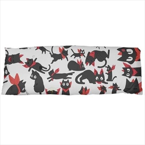 dakimakura body hugging pillow case sakamoto nichijou cat anime nerd cover daki - $36.00