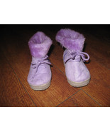 Sz 5M Baby Girls Winter Fabricque Soft Liliac Purple Soft Boots - $15.99