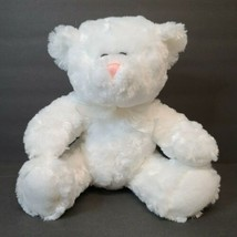 "Goffa Internationa White Plush Teddy Bear 10"" Stuffed Animal Soft - $21.28"