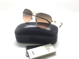 Coach HC7069 929595 Gold Silber / Dunkle Schildpatt Gold Aviator Sonnenbrille - $79.97