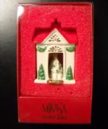 Mikasa Christmas Ornament Holiday Magic Porcelain House with Tree Origin... - $14.99