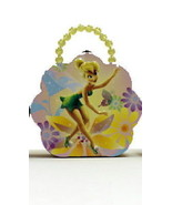 Disney's Tinkerbell Girls Flower Shape Purse Carry All Tin Tote Style B NEW - $14.46