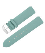 Philip Stein Size 2 18 - 21 mm Light Blue Leather Unisex Band w. Buckle - $69.00