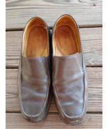 Clarks Size 10.5 Shoes Men's Wavewalk Brown Leather Slip On Loafer Boat ... - $24.22