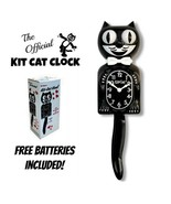 """CLASSIC BLACK KIT CAT KLOCK 15.5"""" Free Battery MADE IN USA Official Cloc... - £40.71 GBP"""