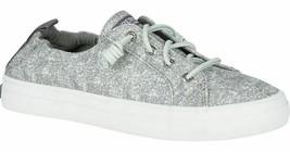 Sperry Top-Sider Donna Crest Ebb Sandwash Grigio Non Stringato Sneakers Nib