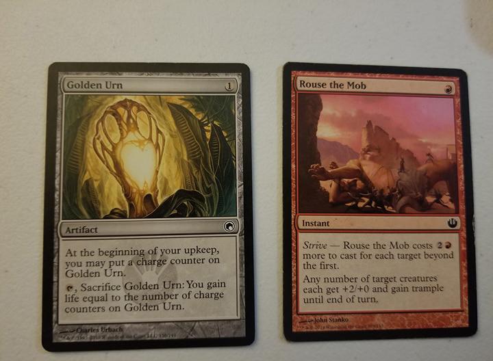 Magic the Gathering MTG Red / White / Green Sliver (60) Card Custom Starter Deck