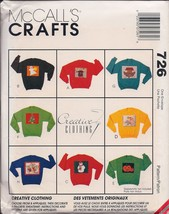McCall's Crafts 726 Creative Clothing Appliques - $3.91