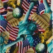 HYDROGRAPHIC WATER TRANSFER HYDRODIPPING FILM HYDRO DIP LADY LIBERTY - $9.15