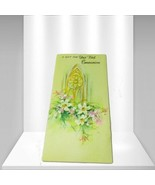 """Sangamon Floral """"A Gift For Your First Communion"""" Vintage Greeting Cards - $6.30"""