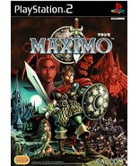 MAXIMO, PlayStation 2, PS2, (SLPM-62127) (Import for Japan Console) - $9.99