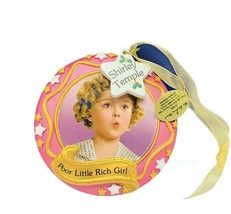 Shirley Temple Christmas ornament Danbury Mint holiday Poor little rich ... - $29.65