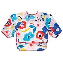 Tiny Twinkle Mess-Proof Full Sleeve Bib - Baby and Toddler Bib - Long Sleeve Smo