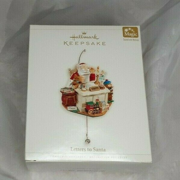 Primary image for Hallmark Keepsake Ornament Letters to Santa Magic Sound Motion New 2006
