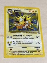 Jolteon Holo-Foil Rare Pokemon Card Jungle 4/64 English WOTC 1999 Near Mint - $74.25