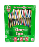 Brach's Santa's Choice Cherry Candy Canes 12 Count - $8.74