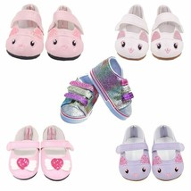 Doll Clothes Shoes 7 CM Canvas For 18 Inch 43CM Baby 1/3 Accessories Gir... - $7.99+