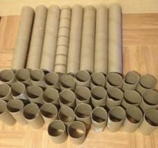 80 Toilet Paper Rolls & 16 Paper Towel Rolls Arts and Crafts Supplies EMPTY - $19.79