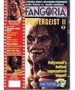 Fangoria Magazine 54 POLTERGEIST II Ramsey Campbell JOHN AGAR Invaders f... - $29.40