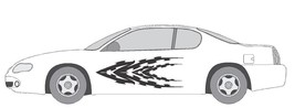 VINYL GRAPHIC #A786 SIDE DECAL AUTO SUV  VEHICLE CROSS OVER SWOOSH TRUCK... - $71.75