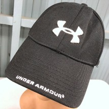 Under Armour Stretch Black Large Baseball Cap Hat - $14.03