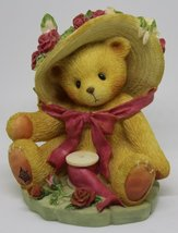Cherished Teddies Janet You're Sweet As A Rose 1998 Avon Exclusive Frien... - $37.44