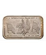 1981 Internazionale Trade Unità Rev 3V Da Corona come Nuovo 1 Oz. Argent... - $95.03