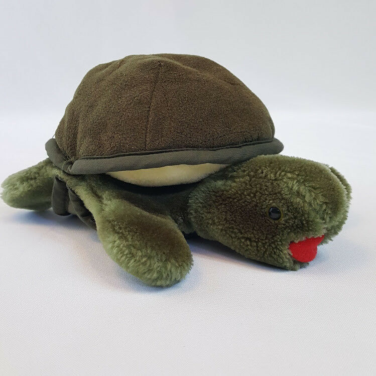 "Primary image for Folkmanis Folktails Furry Folk 8"" Plush Baby Turtle Puppet"