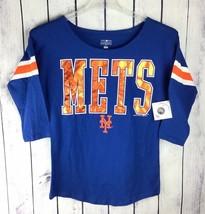 NY Mets Womens Top Shirt Jersey Genuine MLB Baseball Merchandise New Yor... - $21.99