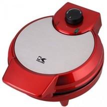 Kalorik Heart-Shape Waffle Maker in Metallic Red - $49.80