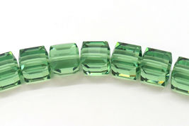 4pcs - 4mm Swarovski Crystal Cube Beads #5601 - You Choose The Color image 4