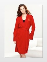 Lauren Ralph Lauren Home For The Holidays Short Quilted Collar Robe Large or XL - $42.00