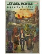 Star Wars Galaxy's Edge Softcover TPB Marvel Comics Han Solo Chewbacca - $9.89