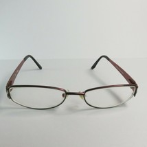 Guess GU1563 Women's Eyeglass Frames 51-16mm Bronze Black silver metal f... - $30.00